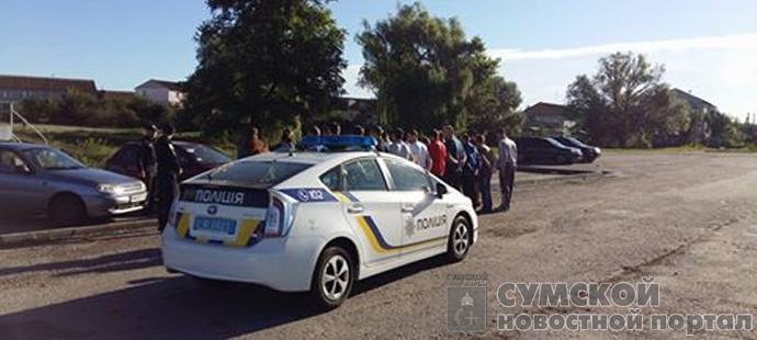 сумская патрульнаяь полиция