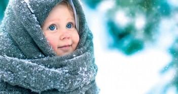 дети на морозе