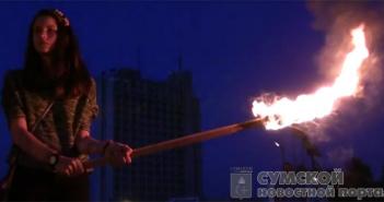 факельным шествием поддержали политзаключенных