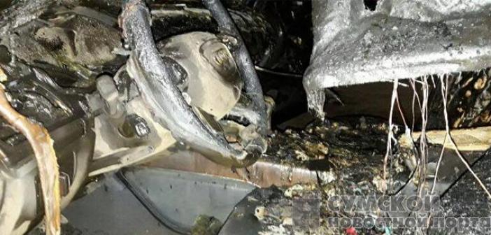 Депутату Сумского горсовета от «Солидарности» сожгли авто