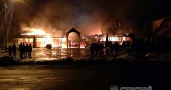 пожар в Коровинцах