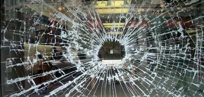 разбитая витрина