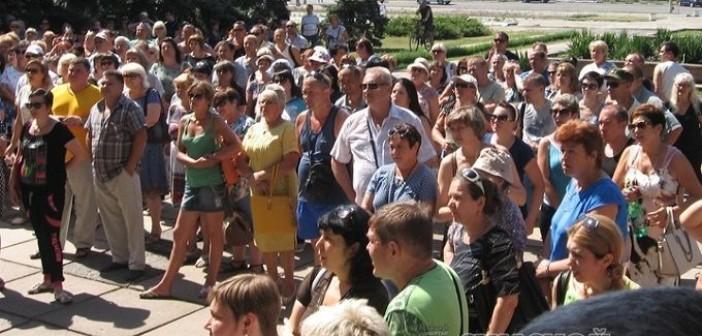 бунт в Горловке