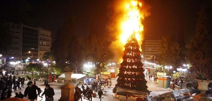 елка-горит