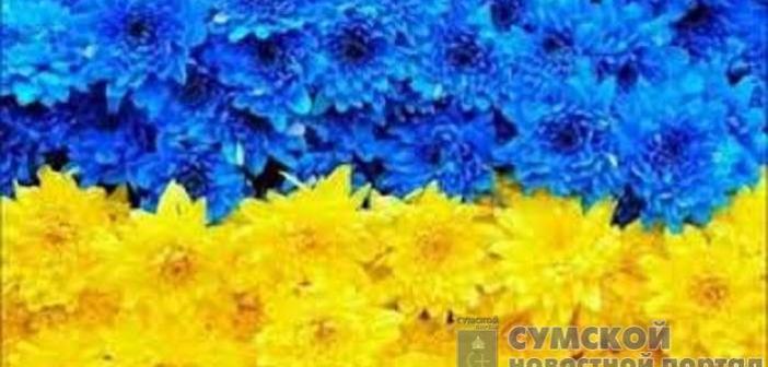 рекордный флаг Украины