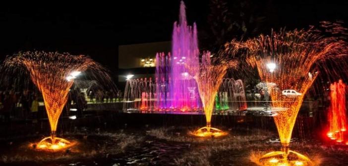 фонтан-театральная