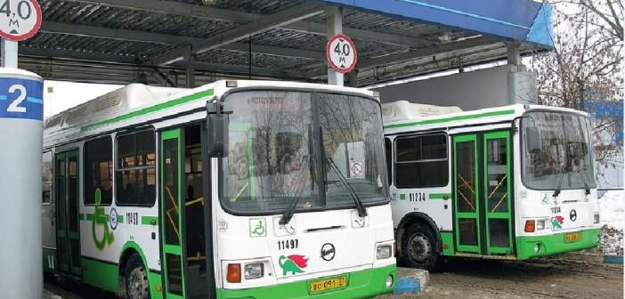 автобусы на газу
