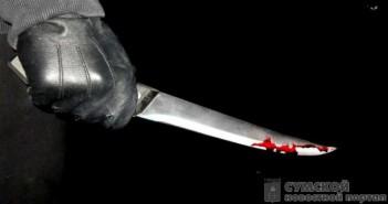 окровавленый-нож