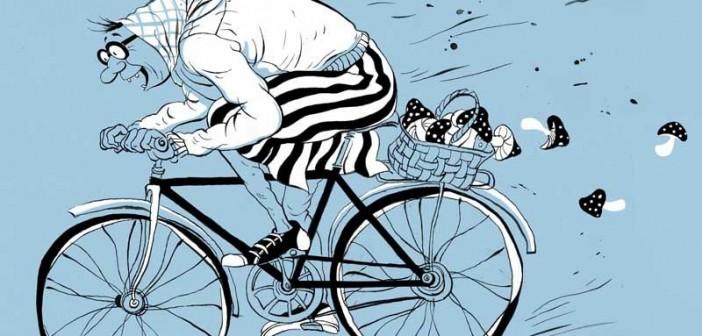похитительница велосипедов