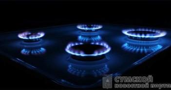 потребление газа