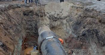 прорыв водопровода