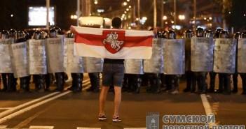 протесты-белорусь