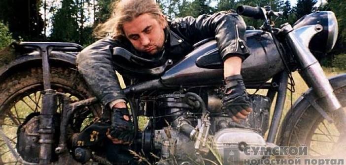 пьяный-мотоциклист