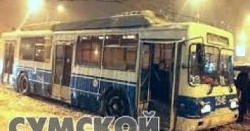 троллейбус-замерз