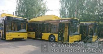 троллейбусы-богдан