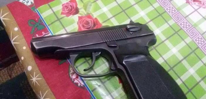 угрожал пистолетом 2