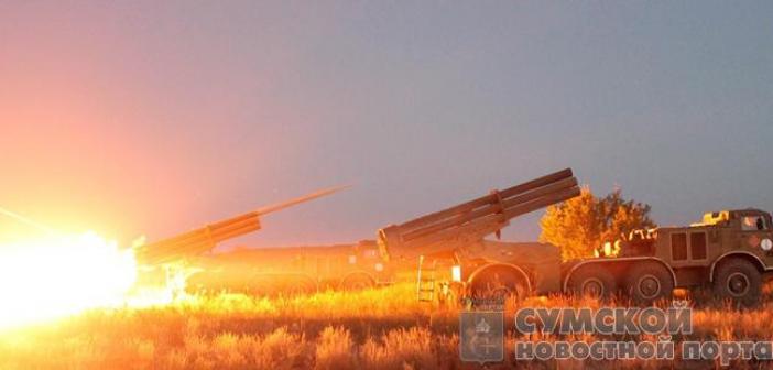 Сумские артиллеристы показали высокую боевую готовность
