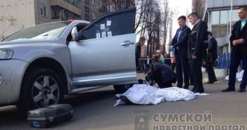 в Киеве застрелили