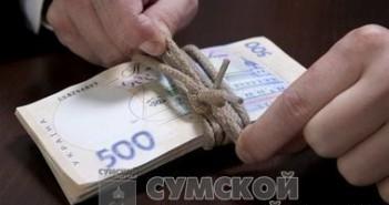 в Киеве на взятке