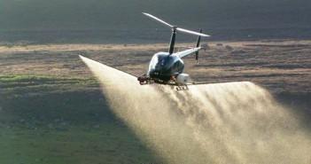 вертолет-распыляет