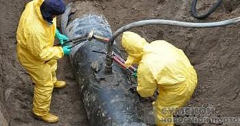 врезка в нефтепровод