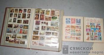 вывоз почтовых марок