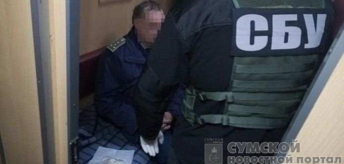 задержание коррупционера