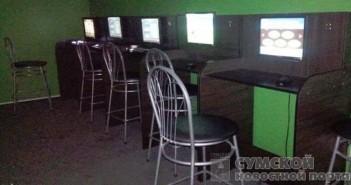зал с игровыми автоматами